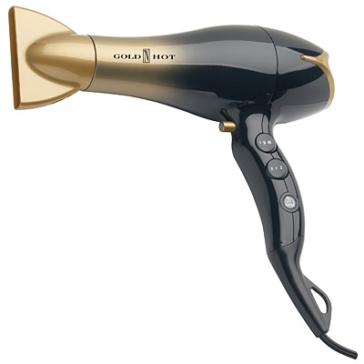 New! Gold N Hot Professional Euro Ionic Hair Dryer