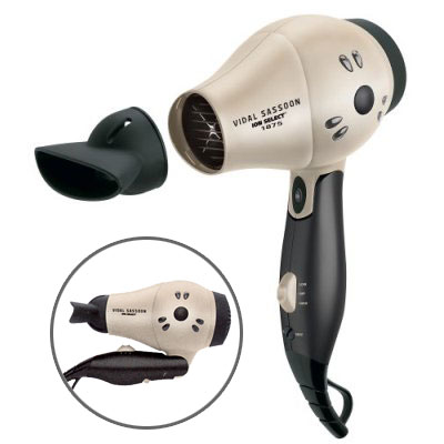 Vidal Sassoon 1875W Professional Travel Hair Dryer
